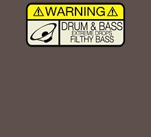 Drum & Bass Warning T-Shirt