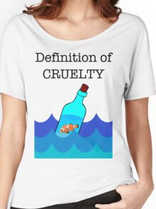 The Definition of Cruelty. Women's Relaxed Fit T-Shirt