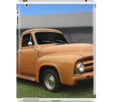 Work Truck iPad Case/Skin