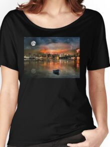 NEW YORK STATE OF MIND, by E. Giupponi Women's Relaxed Fit T-Shirt