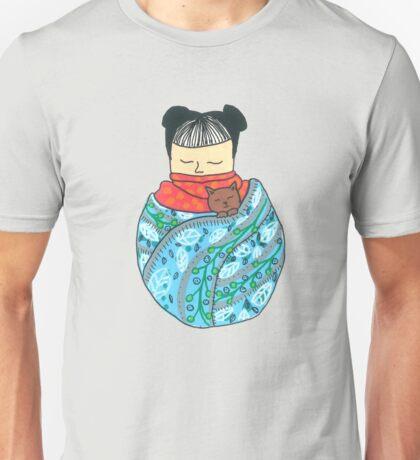 Sleeping Girl Unisex T-Shirt