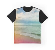 Beach in Colours Graphic T-Shirt