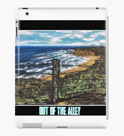Life of a fence-Bells Beach.Vic.Australia iPad Case/Skin