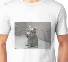 """FALA"" FDR's Scottish Terrier Unisex T-Shirt"