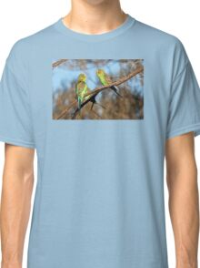 Wild and Free ~ Budgerigars Classic T-Shirt