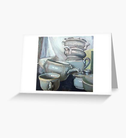Porcelain1 Greeting Card
