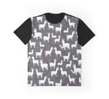 Stylish Alpacas Graphic T-Shirt