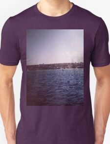 Lonely Sail Boat Unisex T-Shirt