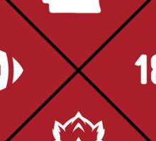 University of Arkansas - Style 12 Sticker