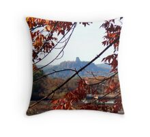 Autumn Landmark Throw Pillow
