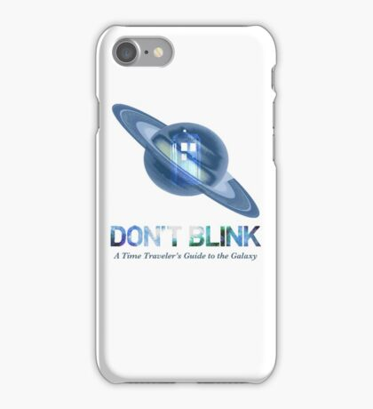 Doctor Who / Hitchhiker's Guide to the Galaxy iPhone Case/Skin