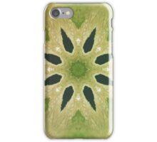 Green Mandala Kaleidoscope  iPhone Case/Skin