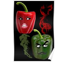 ☝ ☞ BELL PEPPERS WITH AN ATTITUDE ☝ ☞ Poster
