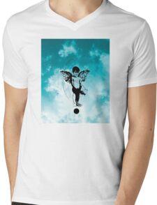 imNone Mens V-Neck T-Shirt
