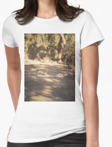 Lazy Sunday Afternoon Womens Fitted T-Shirt