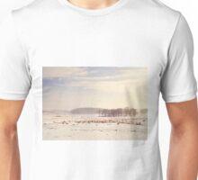 Snowy valley Unisex T-Shirt