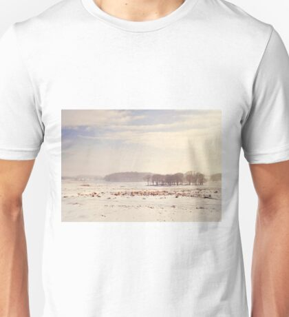 Snowy valley Unisex T-Shirt