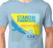 dave matthews band tour 2016-2017-STAND WITH STANDING ROCK Unisex T-Shirt