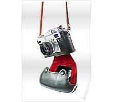 camera in red-black case Poster
