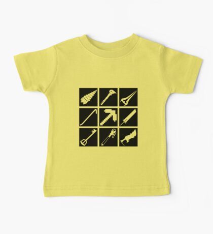 Iconic game weapons Baby Tee