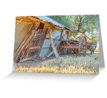 Wagon...... days gone by...... Greeting Card
