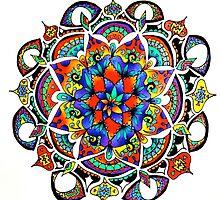 Mandala Bloom by AmandaVela