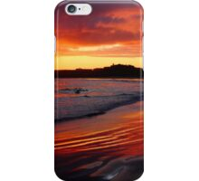 Spring sunset at Port Fairy iPhone Case/Skin