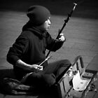 The Busker by Ben Loveday