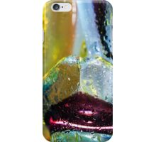 Abstract background. Glass and drops of water. iPhone Case/Skin