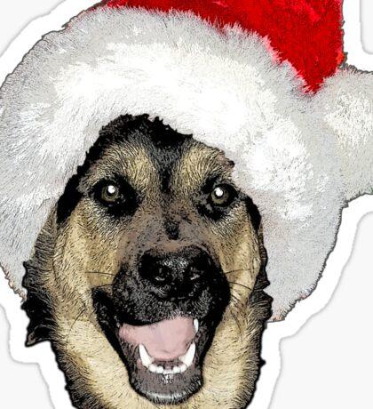 Shepherd Christmas  Sticker