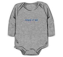 Make It So - T-Shirt One Piece - Long Sleeve