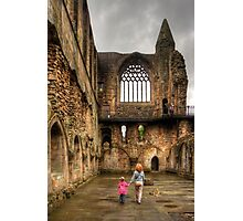 Learning History at a Young Age Photographic Print