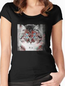 C4T Women's Fitted Scoop T-Shirt