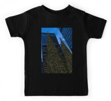 Christmas Trees Taller Than Buildings Right Kids Tee