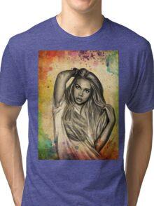 Hayley Kiyoko Tri-blend T-Shirt