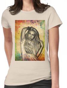 Hayley Kiyoko Womens Fitted T-Shirt