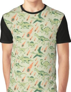 Dino Disaster Graphic T-Shirt