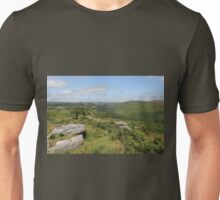 View from Combestone Tor Unisex T-Shirt