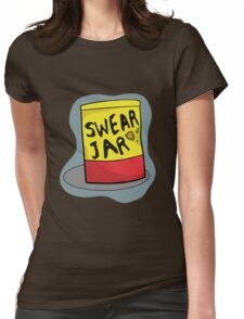 Luke Cage Swear Jar Womens Fitted T-Shirt
