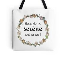 The Night is Serene (Jane Eyre) Tote Bag