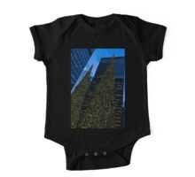 Christmas Trees Taller Than Buildings Left One Piece - Short Sleeve