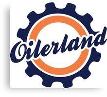 Oilerland Logo  Canvas Print