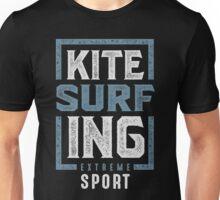 Kitesurfing Typography Unisex T-Shirt