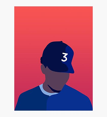 Chance The Rapper Coloring Book Photographic Print