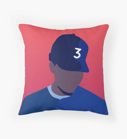 Chance The Rapper Coloring Book Throw Pillow
