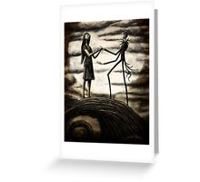 Nightmare Before Christmas Greeting Card