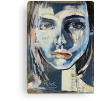 Me, Ugly Pretty Canvas Print