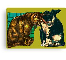 Hungry Cateyes Canvas Print