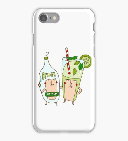 You're the rum to my mojito iPhone Case/Skin