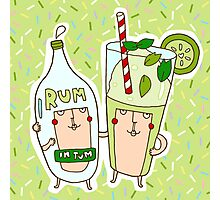 You're the rum to my mojito Photographic Print